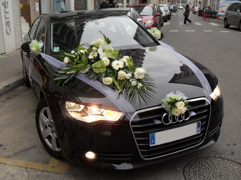decoration voiture mariage audi a5 id es et d 39 inspiration sur le mariage. Black Bedroom Furniture Sets. Home Design Ideas