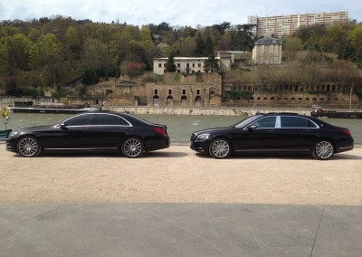 Mercedes Maybach V8 Limousine